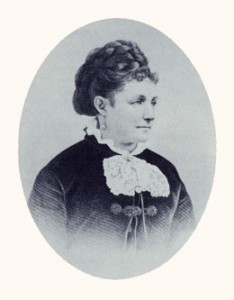Fanny Stenhouse was an exposé writer. Photograph courtesy LDS Church Archives.