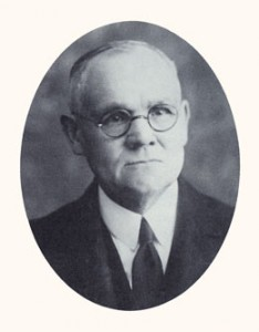 James E. Talmage was a university president, scientist, and apostle. Photograph courtesy LDS Church Archives.