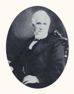 "John Taylor was father of the Utah sugar industry, third president of the Church, and a ""King, Priest, and Ruler over Israel on Earth."" Photograph courtesy LDS Church Archives."
