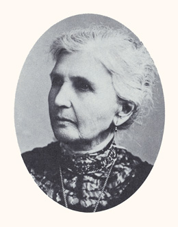 Emmeline B. Wells was a women's advocate and fifth president of the Relief Society. Photograph courtesy LDS Church Archives.