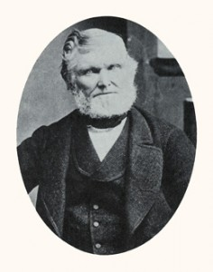 Wilford Woodruff was the fourth president of the Church. Photograph courtesy Utah State Historical Society.