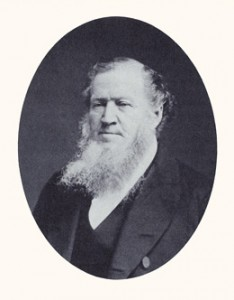 "Brigham Young, the ""Lion of the Lord,"" was a colonizer and second president of the Church. Photograph courtesy LDS Church Archives."