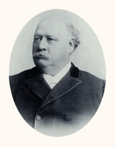 Brigham Young Jr.was president of the Quorum of the Twelve. Photograph courtesy LDS Church Archives.
