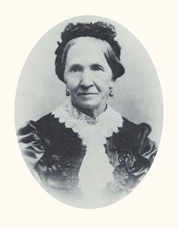 Zina D. H. Young was a plural wife of the prophets, third president of the Relief Society, and women's rights advocate. Photograph courtesy LDS Church Archives.