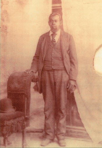 "Green Flake was a black pioneer and ""human tithing."" Photograph courtesy Utah State Historical Society."