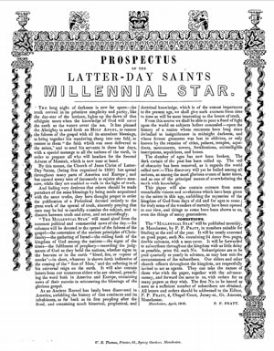 The Latter-day Saints' Millennial Star, 1840-1859