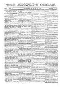 The People's Organ, 1844 (Page)