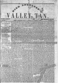 Valley Tan, 1858-1860