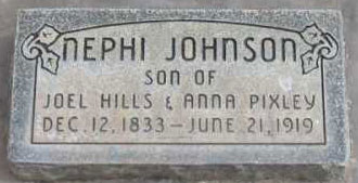 Nephi Johnson, witness to the Mountain Meadows Massacre.