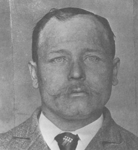 """""""First execution after statehood."""" Charles Thiede executed on 7 August 1896."""