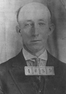 """I have no apology to make for the killing of Irvine."" George H. Gardner executed on 31 August 1923."